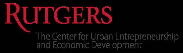 Rutgers The Center for Urban Entrepreneurship and Economic Development Logo